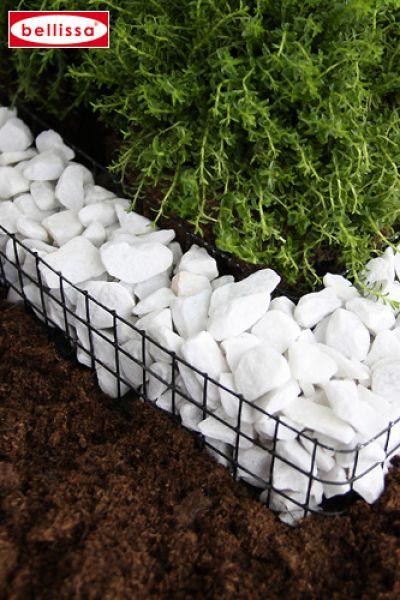 Herzgitter bellissa grabdekoration claus heuwieser for Garten gitter steine